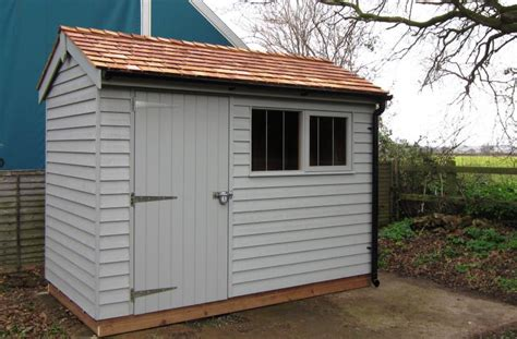 Cladding Sheds by Superior Garden Shed With Weatherboard Cladding With A