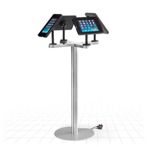 ipad easel stand ipad quad display stand tablet display stands