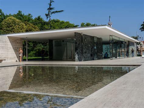 pabellon de alemania arquitectura en contexto pabell 243 n de mies en barcelona
