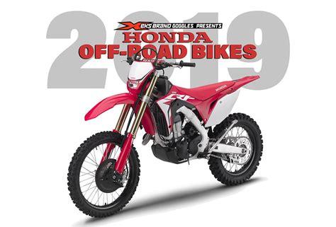 2019 Honda Dirt Bikes by Honda 2019 Road Bikes A New 450x Dirt Bike Magazine