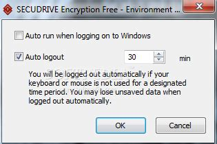 Windows 7 Auto Logout Time by Download Secudrive Encryption Free 1 0 0 57