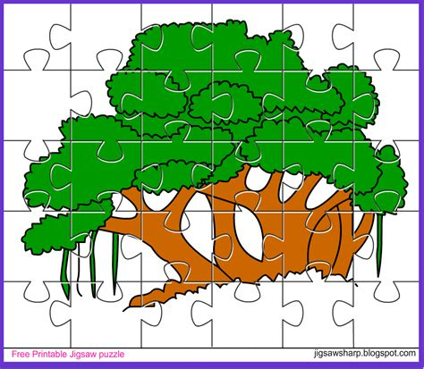 free printable personalized jigsaw puzzles tree puzzle 100 images a tree puzzle multicoloured