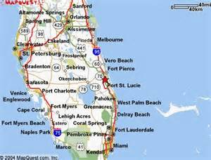 map of florida port st used to live in port st i miss the weather