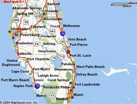 map of port st florida used to live in port st i miss the weather