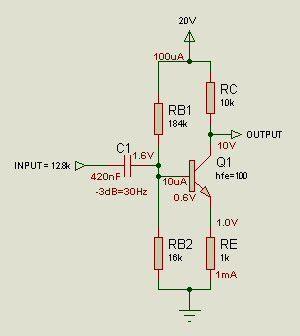 transistor lifier design steps basic common emitter lifier design diyaudio