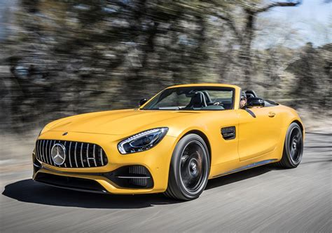 mercedes benz amg gt roadster review  parkers