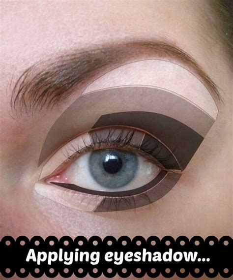 Eyeshadow Zones younique by kristen morton applying eyeshadow for the