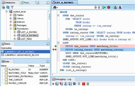 tutorial pl sql oracle pdf sql developer concepts and usage