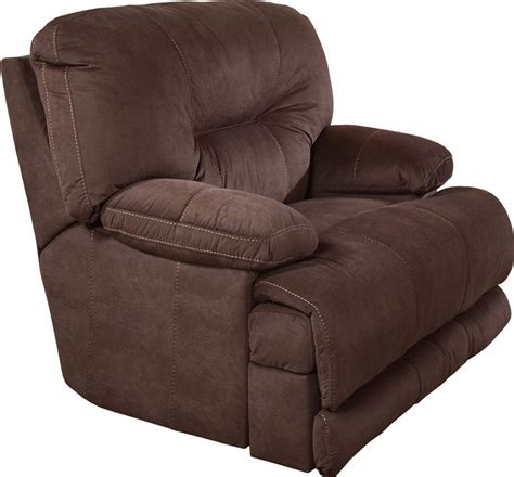 Lay Flat Recliner Sofa by Noble Lay Flat Reclining Sofa In Espresso Fabric By