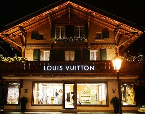 Lv Swiss louis vuitton gstaad resort inspired by swiss chalet