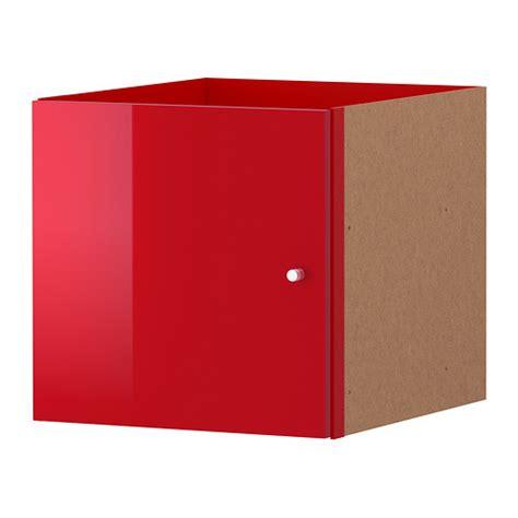 Ikea Kallax Unit Rak 147x77 Cm Efek Kayu Oak 2 Sisipan kallax sisipan dengan pintu berkilat merah ikea