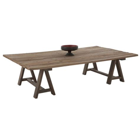 Trestle Coffee Table Coffee Tables Ideas Trestle Coffee Table Suitable Living Room Wooden Rustic Motifs Trestle