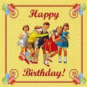 vintage birthday card dotcomgiftshop