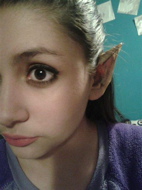 tutorial latex elf ears elf ears tutorial without latex cosplay amino