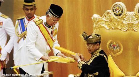 agong    change  fate  malaysia