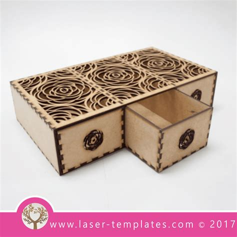 laser cut wood box template 35 laser cut box