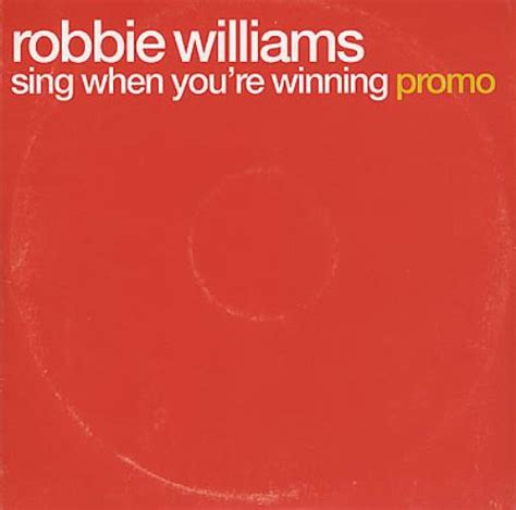 Robbie Williams Wing When You Re Winning robbie williams sing when you re winning vinyl records lp cd on cdandlp