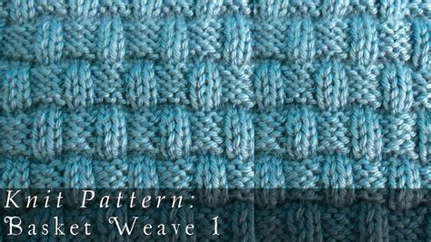 youtube knitting pattern basket weave 1 knit pattern youtube