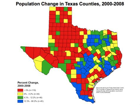 population map of texas former census director talks demographic shift the texas tribune