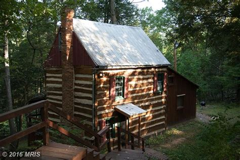 Hewn Log Cabin by 1850 S Hewn Cabin