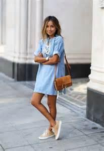 blue denim dresses 2017 fashiontasty com