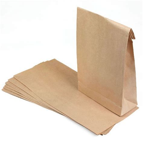 How To Make Brown Paper Bag - neelo silver brown paper bag