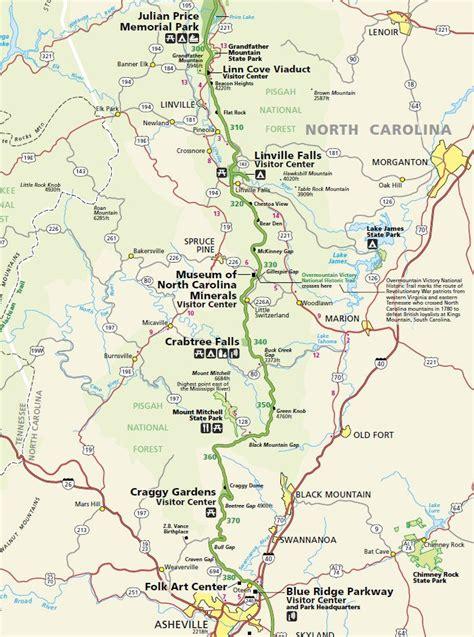 ashville nc map blue ridge parkway map asheville asheville