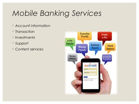 mobile banking services mobile banking adoption