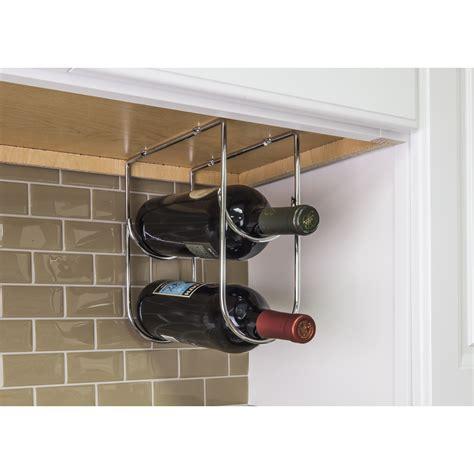 under cabinet wine racks polished chrome under cabinet wine bottle rack corwin