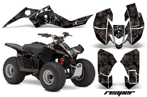 Suzuki Ltz 400 Aufkleber by Suzuki Ltz 50 Atv Graphic Decal Sticker Kit