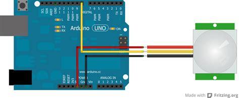 Tutorial Sensor Pir Arduino | arduino tutorial 11 hc sr501 pir motion sensor blog of