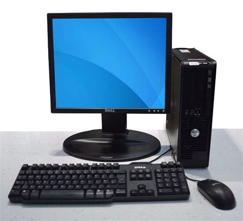 dell desk top computer dell computer set up windows 7 17 quot lcd monitor