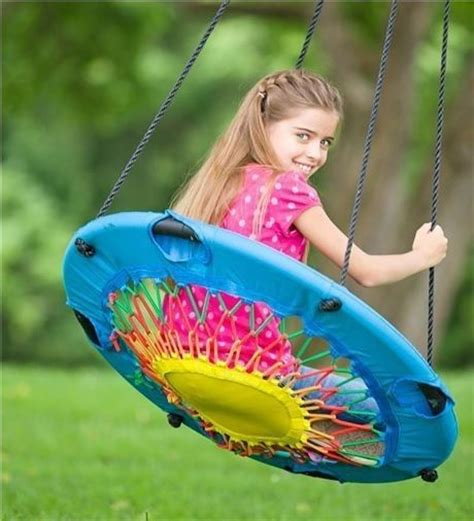 kid swing chair quot all ages swinging chair unusual toys swing chair