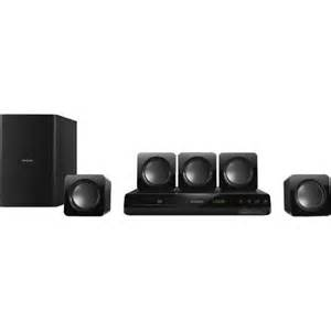 philips home theater system philips htd3514 f7 300 watt 5 1 channel dvd home theater