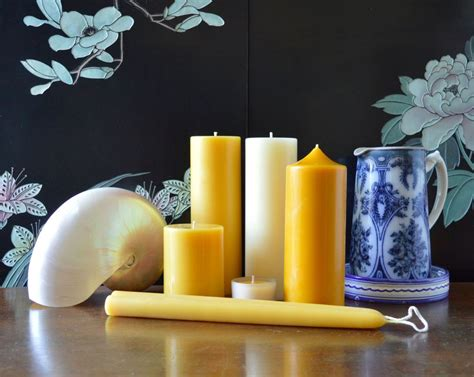 Handmade Candles Wholesale Uk - beeswax candles gold black beeswax candles