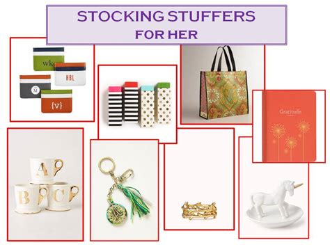 stocking stuffers for her stocking stuffers for him and her confettistyle