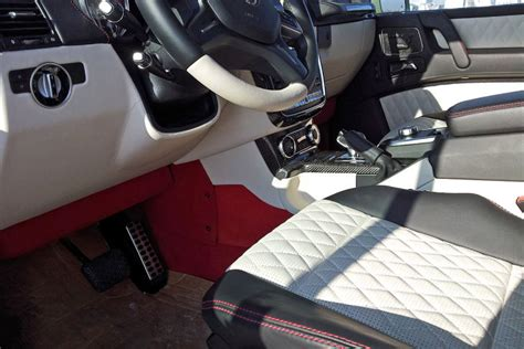 mercedes pickup truck 6x6 interior scooped mercedes g63 amg 6x6 pickup