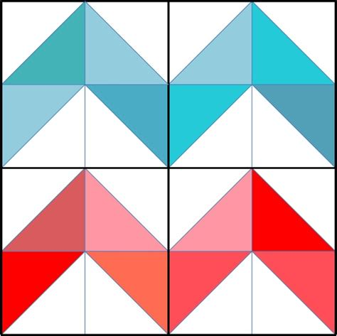 Zig Zag Quilt Block Pattern | sewing school your online source for all things sewing