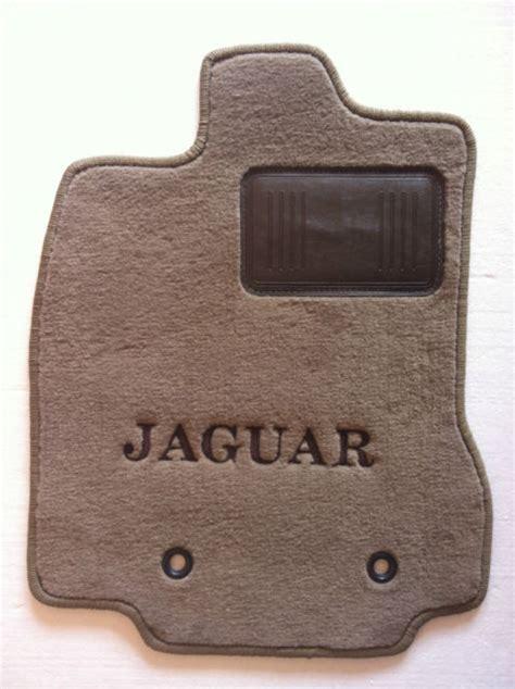 Jaguar X Type Floor Mats by Jaguar X Type 4pc Custom Beige Floor Mats Oem Spec W