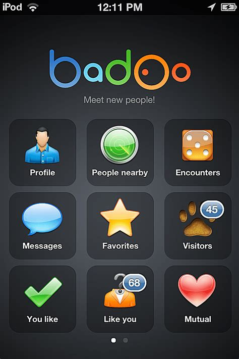 Badoo Email Search Explore The Badoo App For Iphone