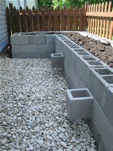 cinder block raised bed pin by laura stuart on cinder blocks pinterest