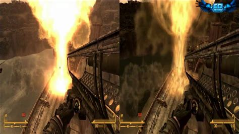 ultra low graphics vs fallout 4 fallout new vegas graphics comparison ultra vs low 720p