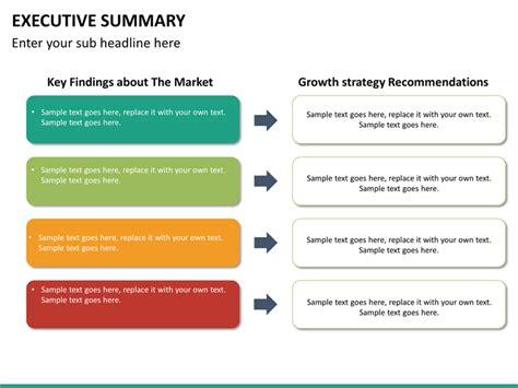 Executive Summary Powerpoint Template Sketchbubble Executive Summary Powerpoint Template