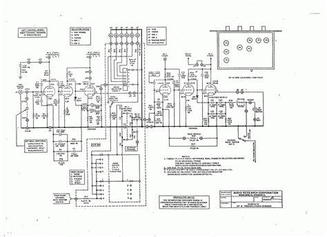 audio research sp8 prelifier circuit diagram schematic