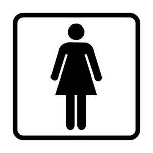 Toilet Wall Stickers adesivo stickers bagno uomo donna toilette restroom porta