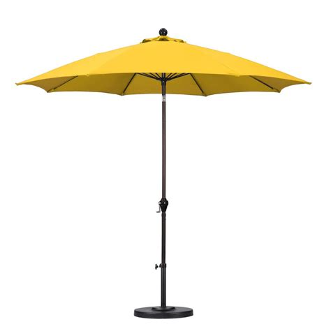 yellow patio umbrella yellow patio umbrella 9 aluminum patio umbrella yellow