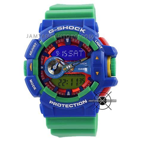 Jam Tangan Gshock Colour 1 harga sarap jam tangan g shock ga 400 2a green blue