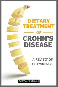 dietary treatment of crohn s disease a review of the evidence