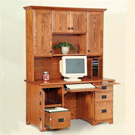60 computer desk 60 quot flat top computer desk w hutch solid panel