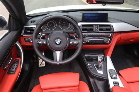 bmw red interior review 2015 bmw 435i xdrive cabriolet canadian auto review